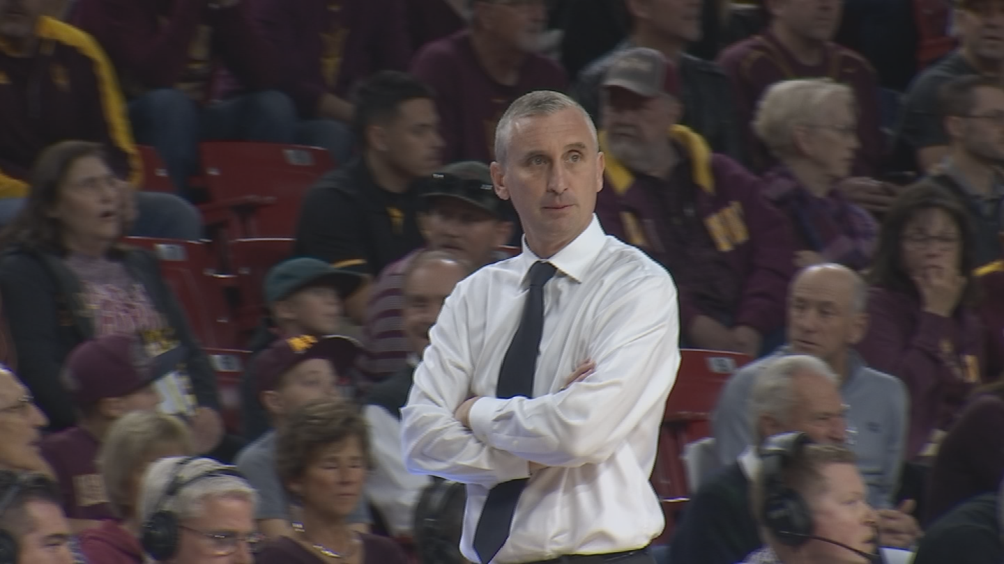 ASU head coach Bobby Hurley, no stranger to great home crowds himself, took notice of the fans. (Source: 3TV/CBS 5)