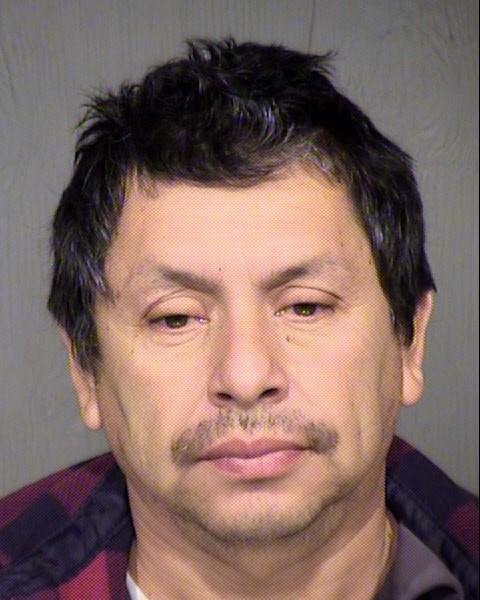Mug shot of 49-year-old Jesus Bastidas. (Source: Glendale PD)
