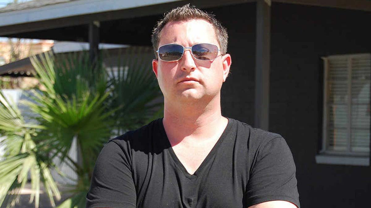 "Scott Menaged, best known from the reality TV show ""Property Wars,"" was arrested in May in a case investigated by the Internal Revenue Service and the Department of Homeland Security. (Source: Discovery Channel)"