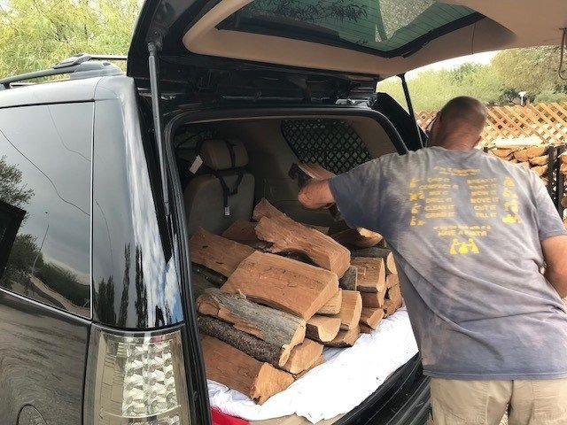 We have our fire pit burning about seven or eight times during the winter and this is the perfect amount of wood to get and it fits right in the back of my SUV. (Source: 3TV/CBS 5)