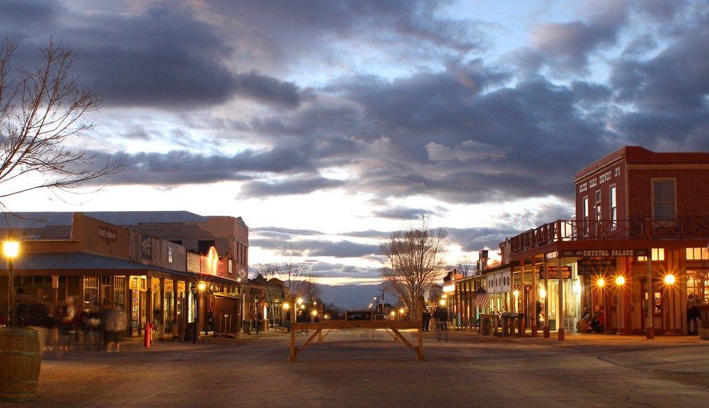 Allen Street in Tombstone. (Source: Tombstone Chamber of Commerce)