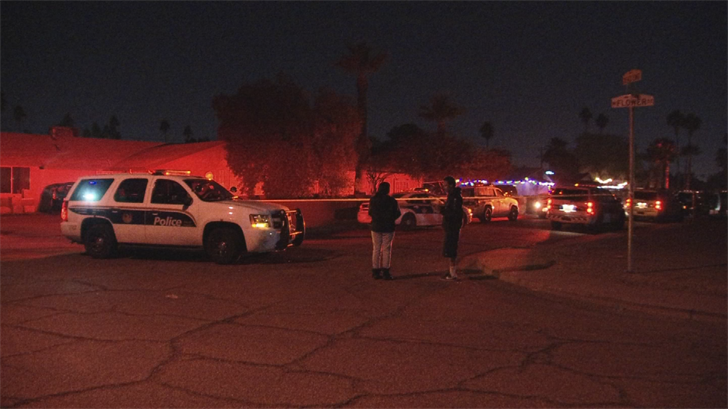 The shooting occurred at a home near 51st Avenue and Thomas Road. (Source: 3TV/CBS 5)