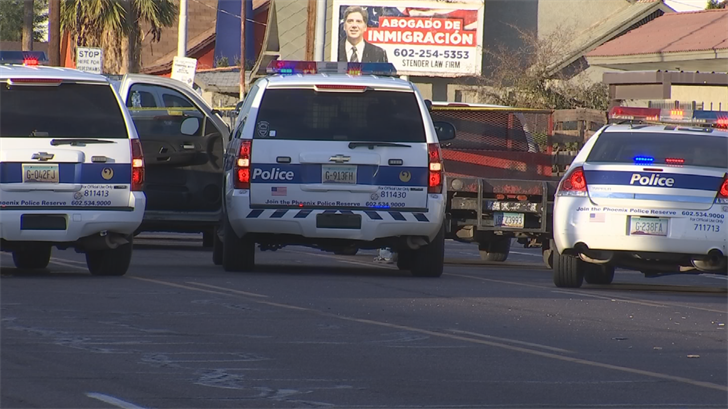 No officers were hurt in the shooting. (Source: 3TV/CBS 5)