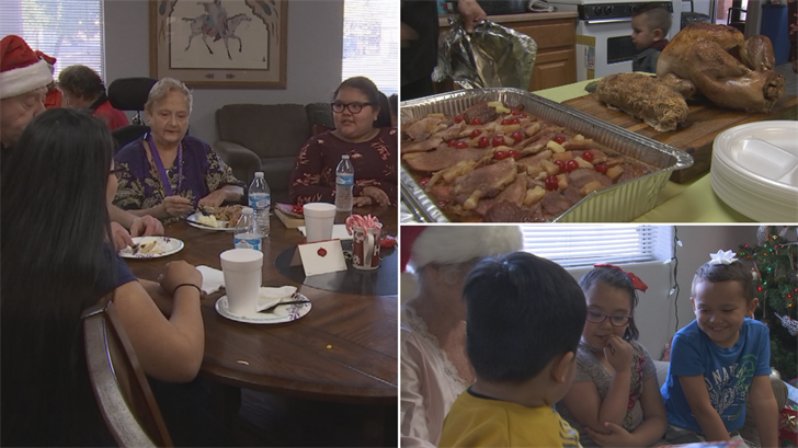 Emma Hall hosted a Christmas dinner for the kids in her Youngtown neighborhood. (Source: 3TV/CBS 5)
