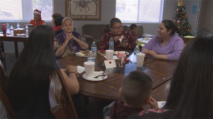 She wanted to do something special for the kids in the area since she has 38 great grandchildren but they are spread out all over the country. (Source: 3TV/CBS 5)