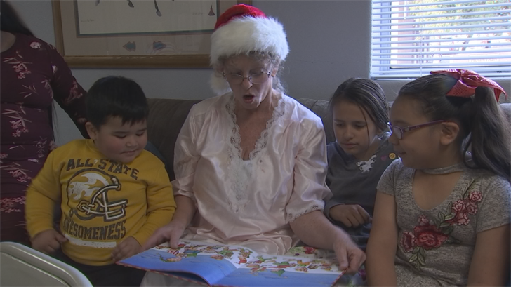 There were Christmas gifts for the kids, thanks to donations. (Source: 3TV/CBS 5)