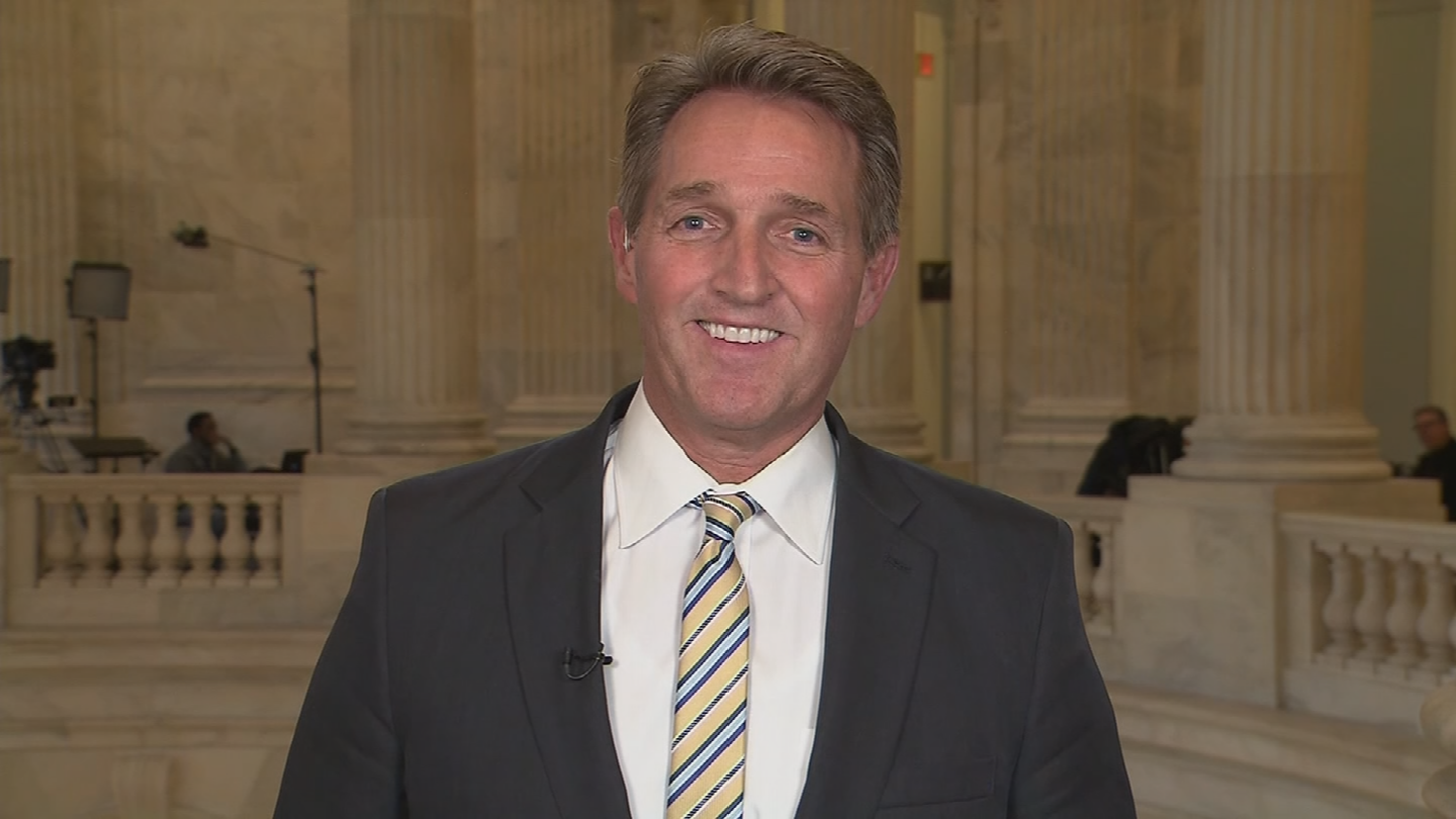 Sen. Flake said on Sunday he isn't closing the door on a presidential run in 2020. (Source: CNN)