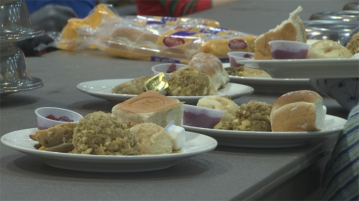 For many, this is their best meal of the year. (Source: 3TV/CBS 5)