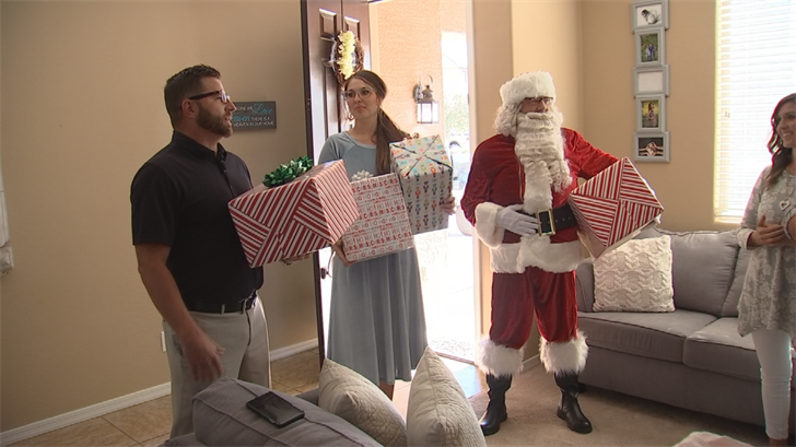VIP Mortgage reached out to them wanting to sponsor the family's Christmas. (Source: 3TV/CBS 5)