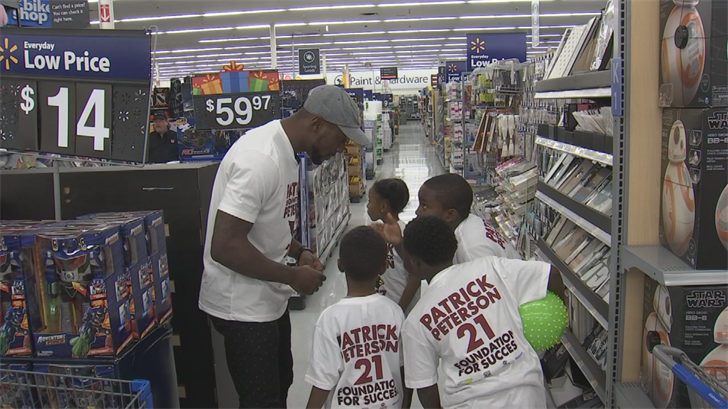 Each kid got a $100 gift card to Walmart. (Source: 3TV/CBS 5)
