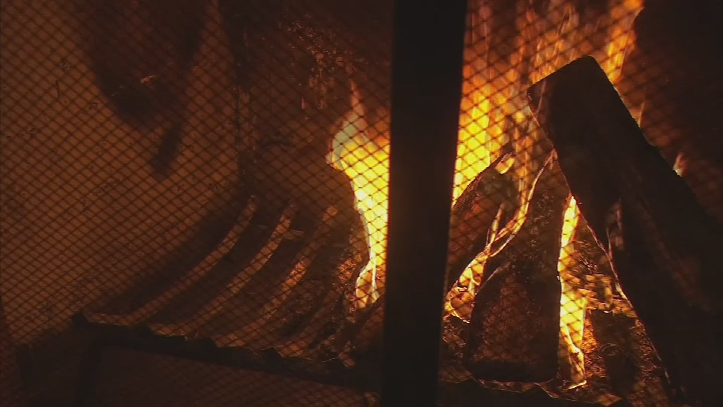 Smoke pollution levels have been too high in the Valley, so wood burning fires were banned again. (Source: 3TV/CBS 5)