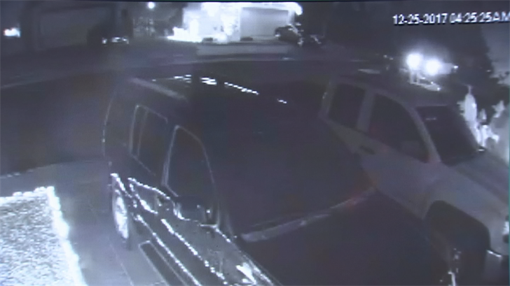Several neighbors caught the crime on their security cameras. (Source: 3TV/CBS 5)