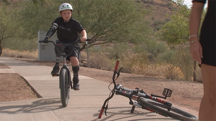 For 8-year-old Dylan Darland, 2017 was a year of real progress. (Source: 3TV/CBS 5)