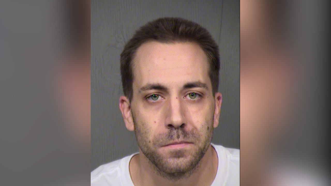 Anthony Kupreisis, 30, arrested in Yuma on murder charges related to the stabbing death of a Peoria man. (Source: Maricopa County Sheriff's Office)