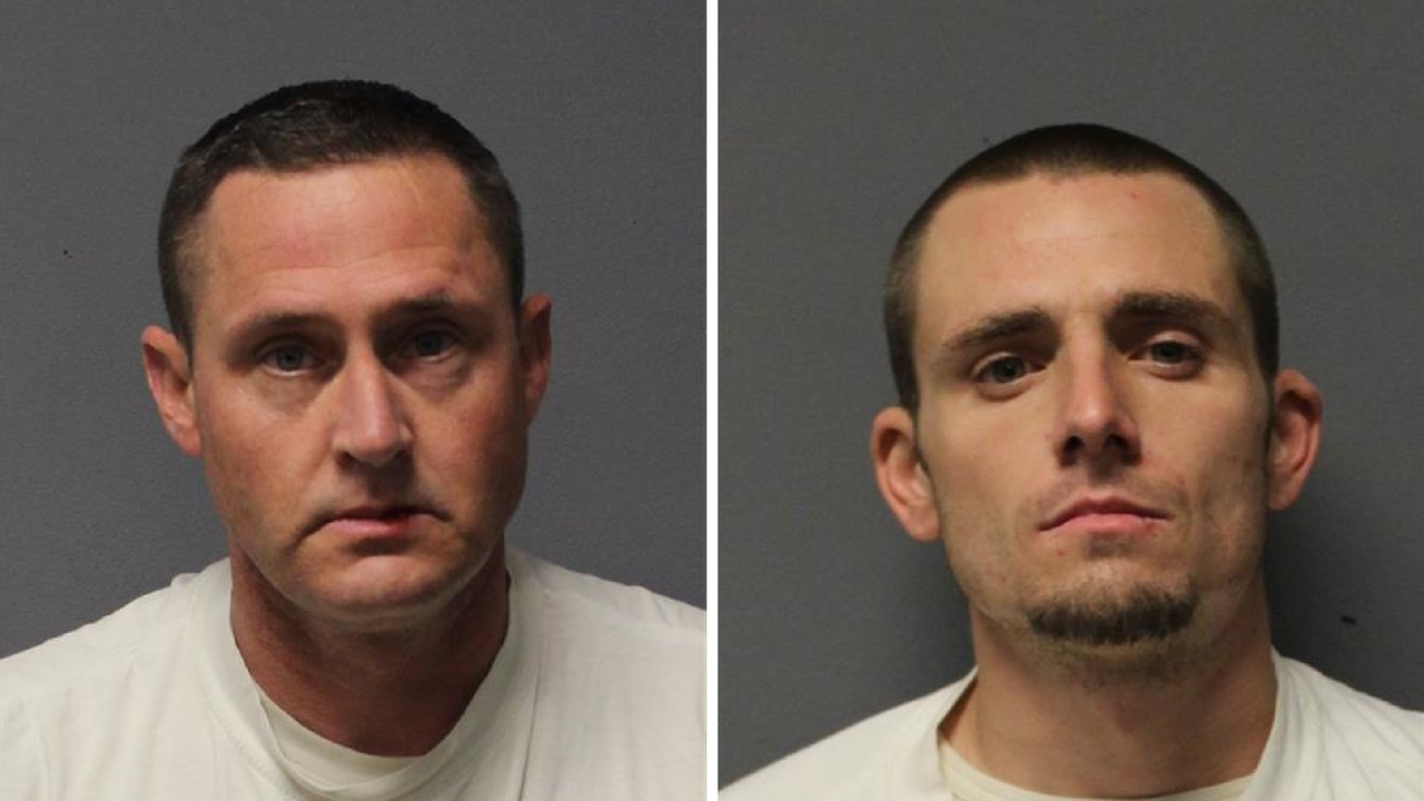 A warrant arrest in Cottonwood led to the arrest of two suspects, Michael Margerison (left) and Aquilino Exposito and a drug seizure on Dec. 20, 2017. (Source: Yavapai County Sheriff's Office)