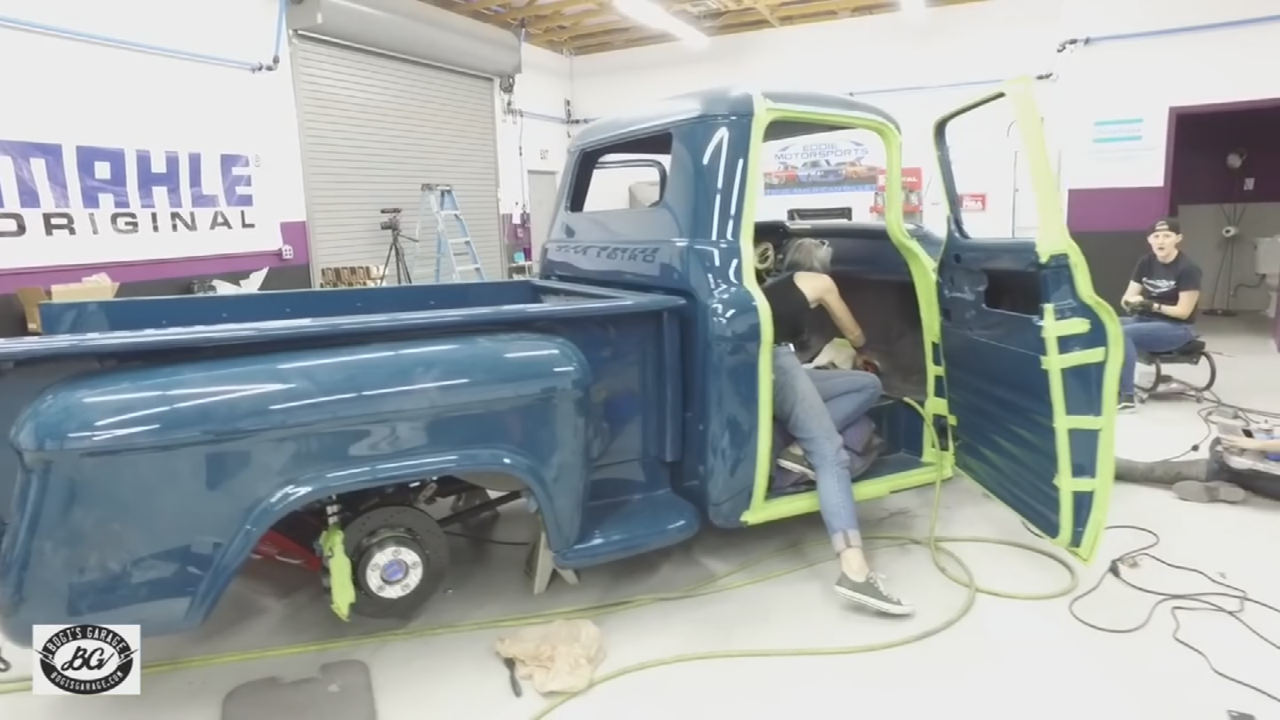 The project combines experts with novices and they created an incredible work of art.(Source: 3TV/CBS 5)