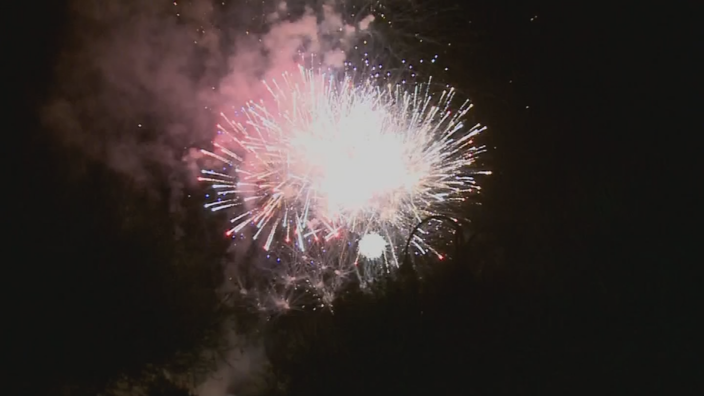 Fireworks do affect the air quality, there's just no legislation that prohibits them during no burn days. (Source: 3TV/CBS 5)