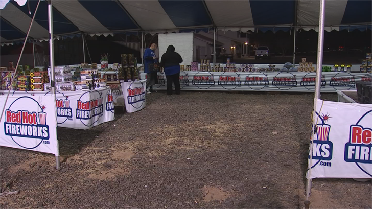 You've likely seen fireworks stands popping up all over the Valley, ready to ring in the New Year. (Source: 3TV/CBS 5)