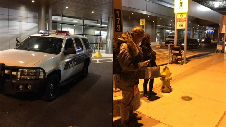 Sky Harbor International Airport Terminal 3 was briefly evacuated after a police incident early Thursday morning. (Source: 3TV/CBS 5)