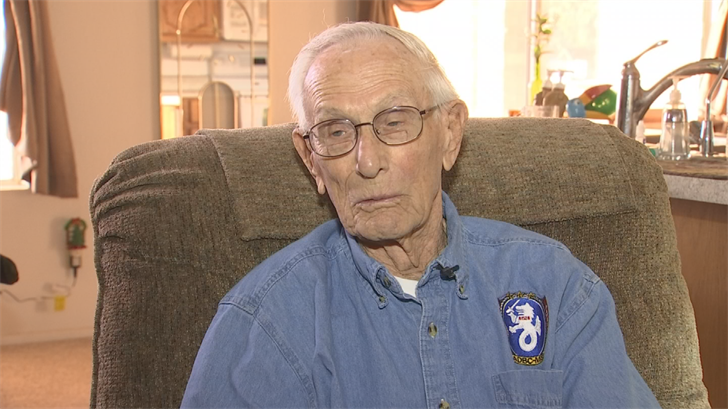He was 21 when the Axis Powers bombed Pearl Harbor on December 7, 1941. (Source: 3TV/CBS 5)