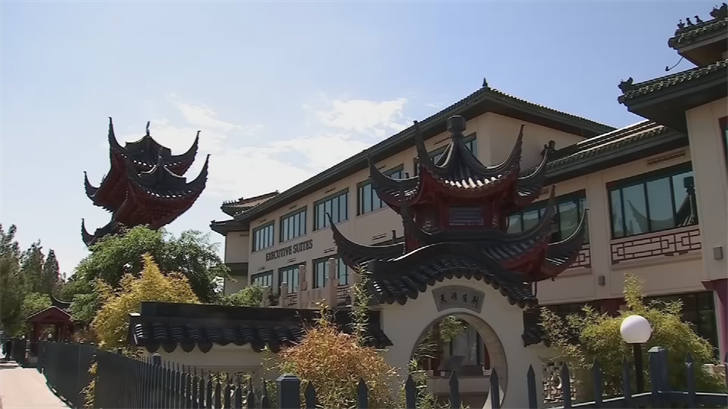 A three-judge panel of the Arizona Appeals Court has blocked - at least for now - lower court rulings that would let a construction company make changes to the distinct exterior of Phoenix's Chinese Cultural Center. (Source: 3TV/CBS 5)