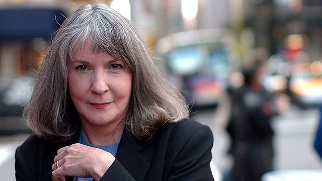In this Oct. 15, 2002 file photo, mystery writer Sue Grafton poses for a portrait in New York. (Source: AP Photo/Gino Domenico, file)