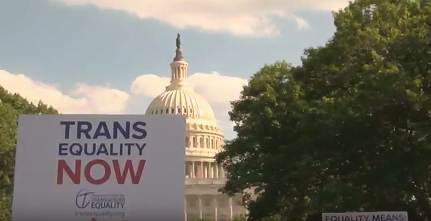 Advocates welcomed the court victory that allows transgender individuals to enlist in the military for now. But they said they expect the fight to continue. (Source: Emma Lockhart/Cronkite News)