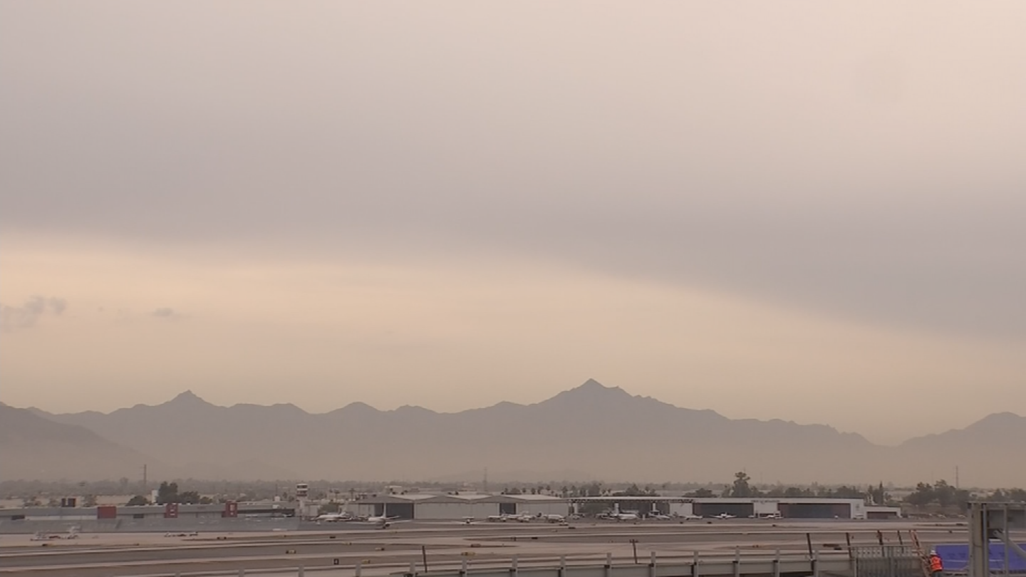 The air is so bad that it could affect everyone and not just people with respiratory issues like asthma. (Source: 3TV/CBS 5)