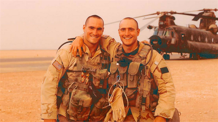 Pat Tillman and his brother Kevin left their careers in sports to enlist in the wake of the 9/11 attacks. (Source: Tillman Foundation)