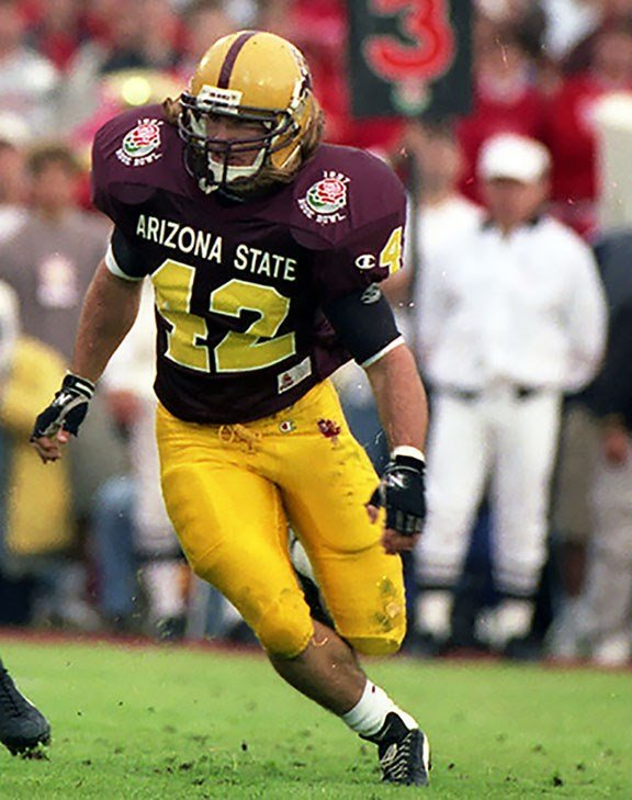Pat Tillman's success at Arizona State propelled him to an NFL career – that he walked away from five years later enlist in the Army. (Source: Sun Devil Athletics)