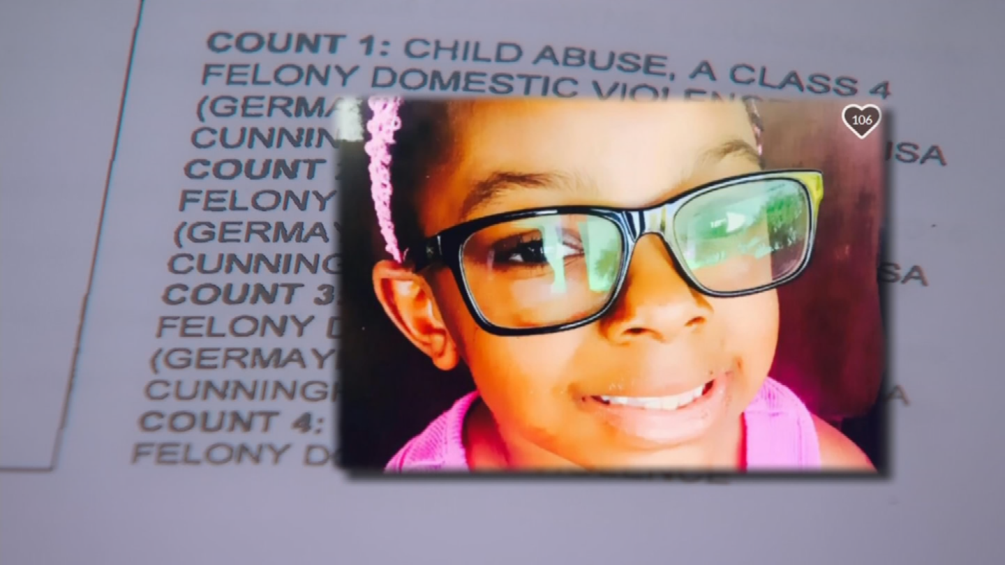 Back in February 2017, Sanaa Cunningham was rushed to an urgent care center with trouble breathing, bruisesand scratches all over her body, according to police records. (Source: 3TV/CBS 5)