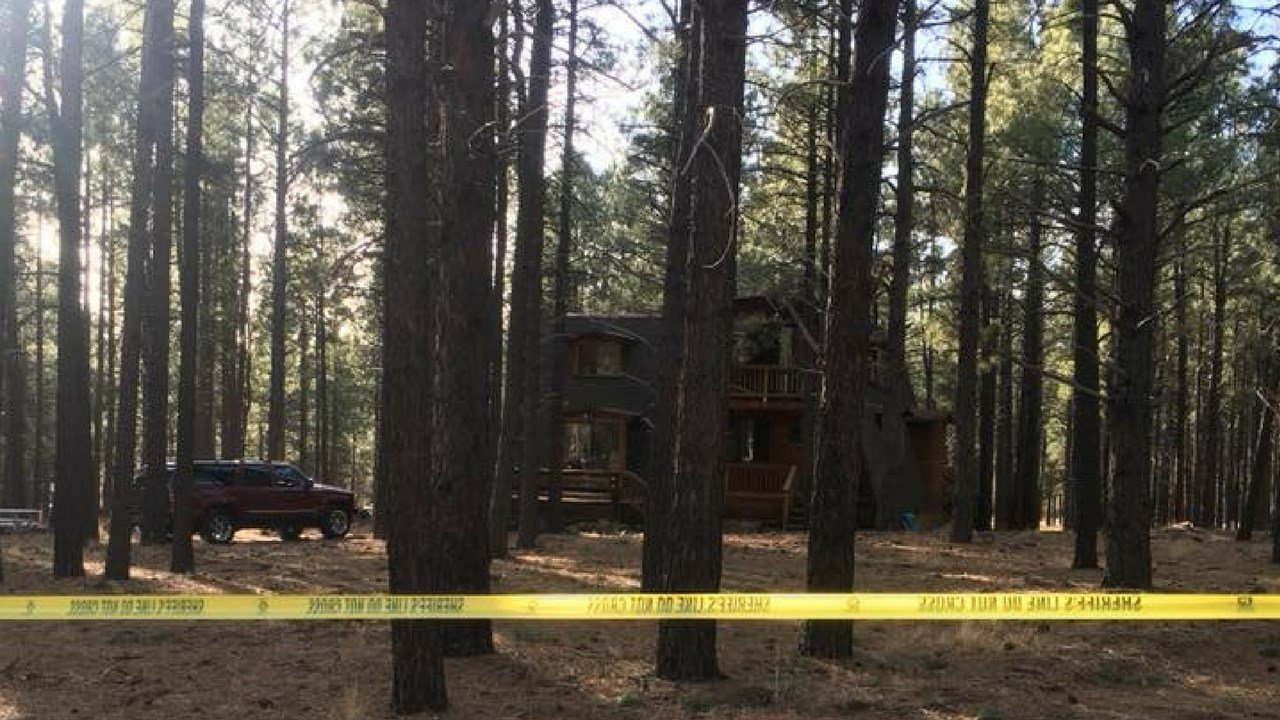 The tragic discovery was made after a family friend called the Coconino County Sheriff's Office on Monday afternoon because they hadn't heard from the family who was staying at a cabin in Parks in a few days.(Source: Ponderosa Fire Department)