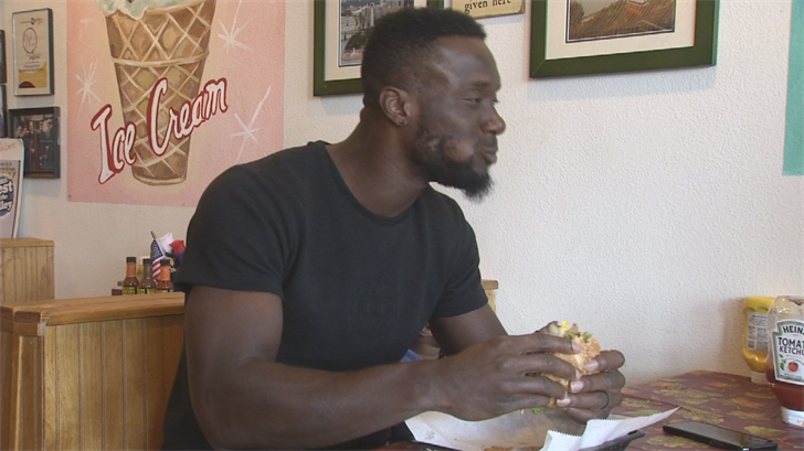 Brown loves to eat and he when he ventures to Chandler, he goes to Wimpy's Paradise, one of the best burger stops in Arizona. (Source: 3TV/CBS 5)