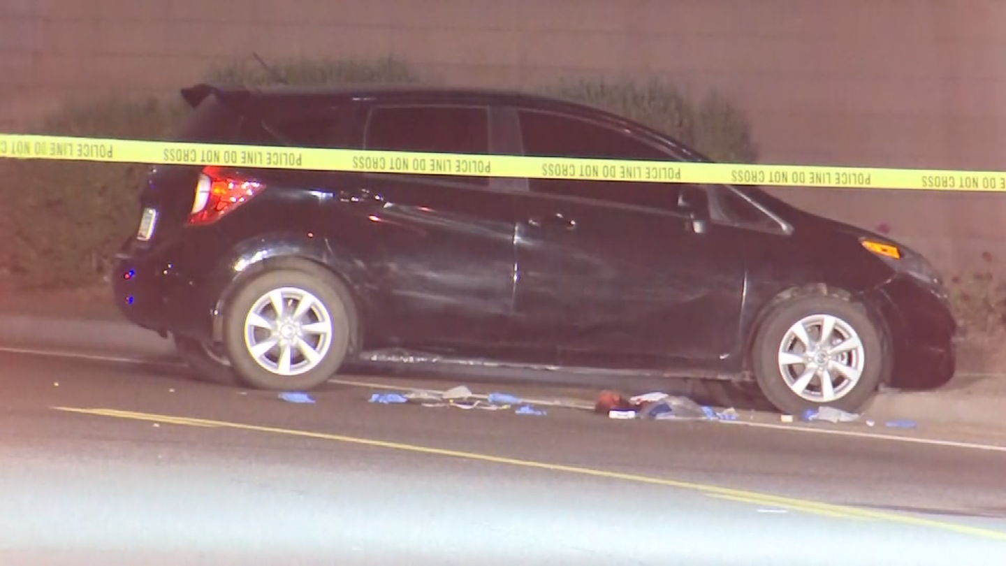 A man was shot and killed after racing his car down an Avondale road due to an altercation Tuesday night. (Source: 3TV/CBS 5)