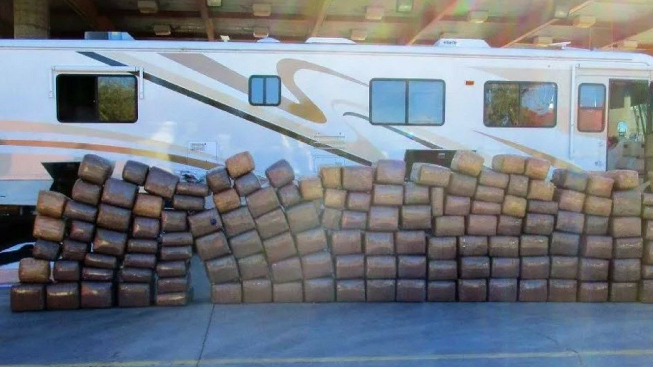More than a ton of marijuana was seized by officers at the Port of Lukeville over the past weekend. (Source: U.S. Customs and Border Protection)