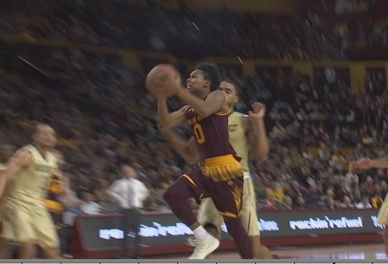 ASU senior Tra Holder reminds Arizona Coach Sean Miller of Suns legend Kevin Johnson. (Source: 3TV/CBS 5)