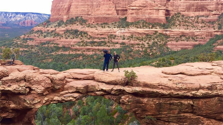 Devil's Bridge Trail is a very popular hike through the red rocks of Sedona. (Source: 3TV/CBS 5)