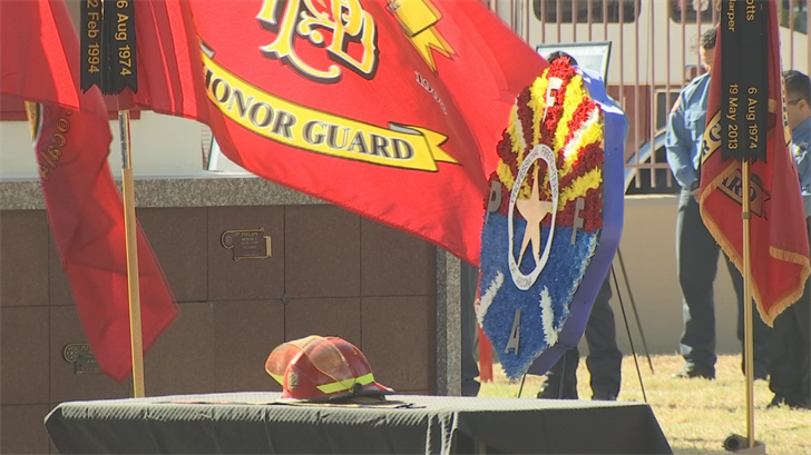 A second ceremony was held at Greenwood Memorial. (Source: 3TV/CBS 5)