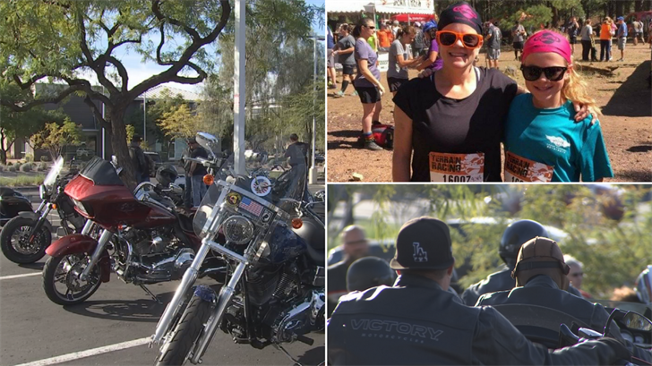 They had a special ride and fundraiser for the Deputy Sgt. Steve Chervenak. (Source: 3TV/CBS 5)