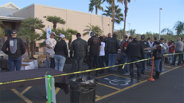 The bikers first met at Desert Ridge Sandbar. (Source: 3TV/CBS 5)
