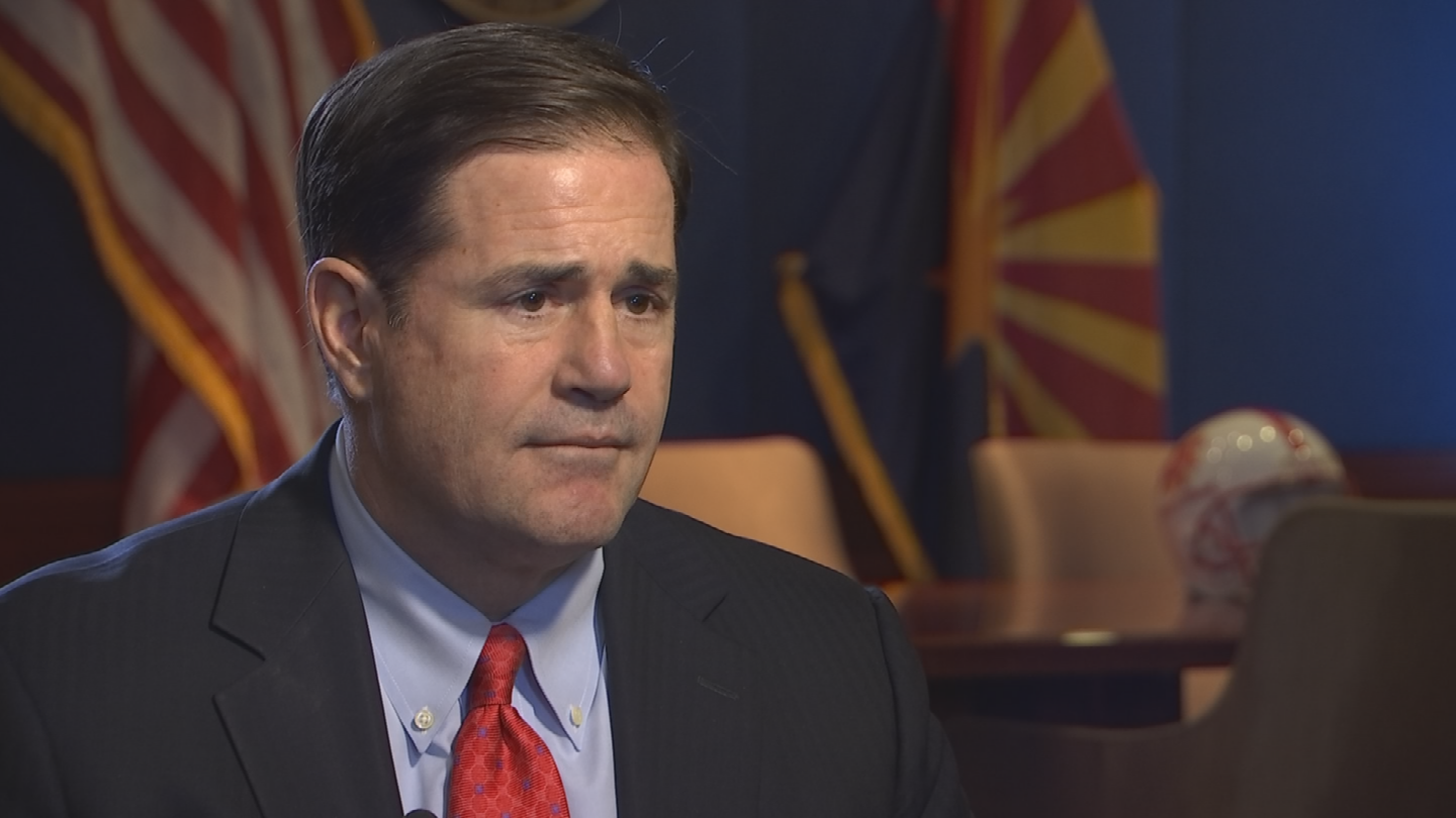 Ducey has pushed his agencies to find cash to redirect to education. (Source: 3TV/CBS 5)