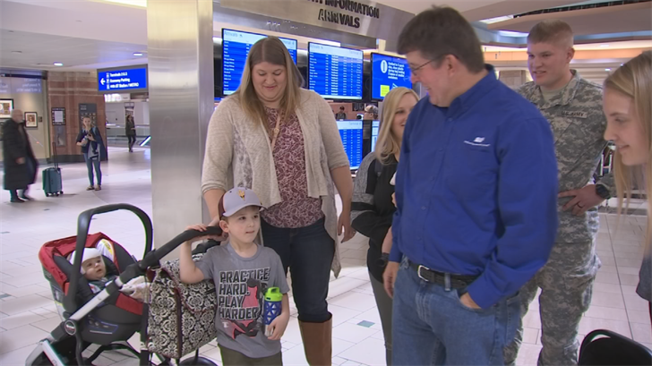 Susan said it was tough for her to be without him for a month. (Source: 3TV/CBS 5)