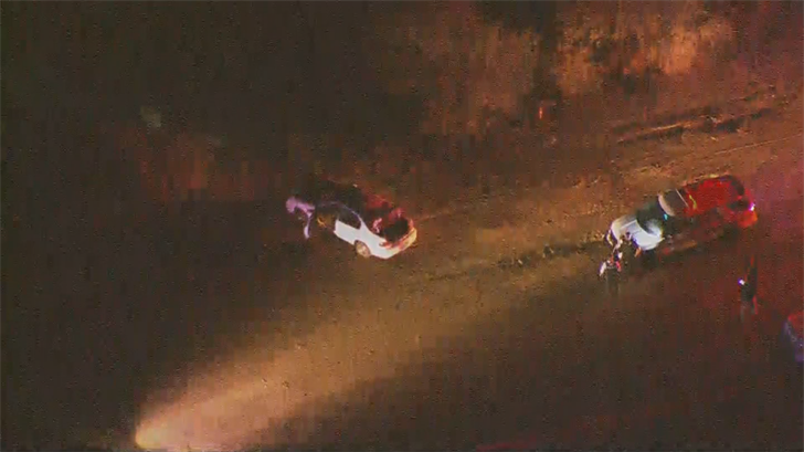 Police believe the suspect's car is a Chevy Malibu. (Source: 3TV/CBS 5)