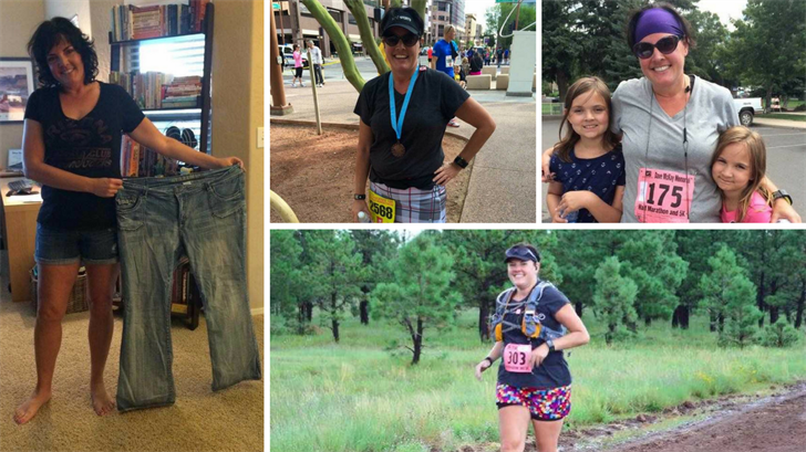 Diane Potter has lost more than 100 pounds thanks to diet and running. (Source: 3TV/CBS 5)