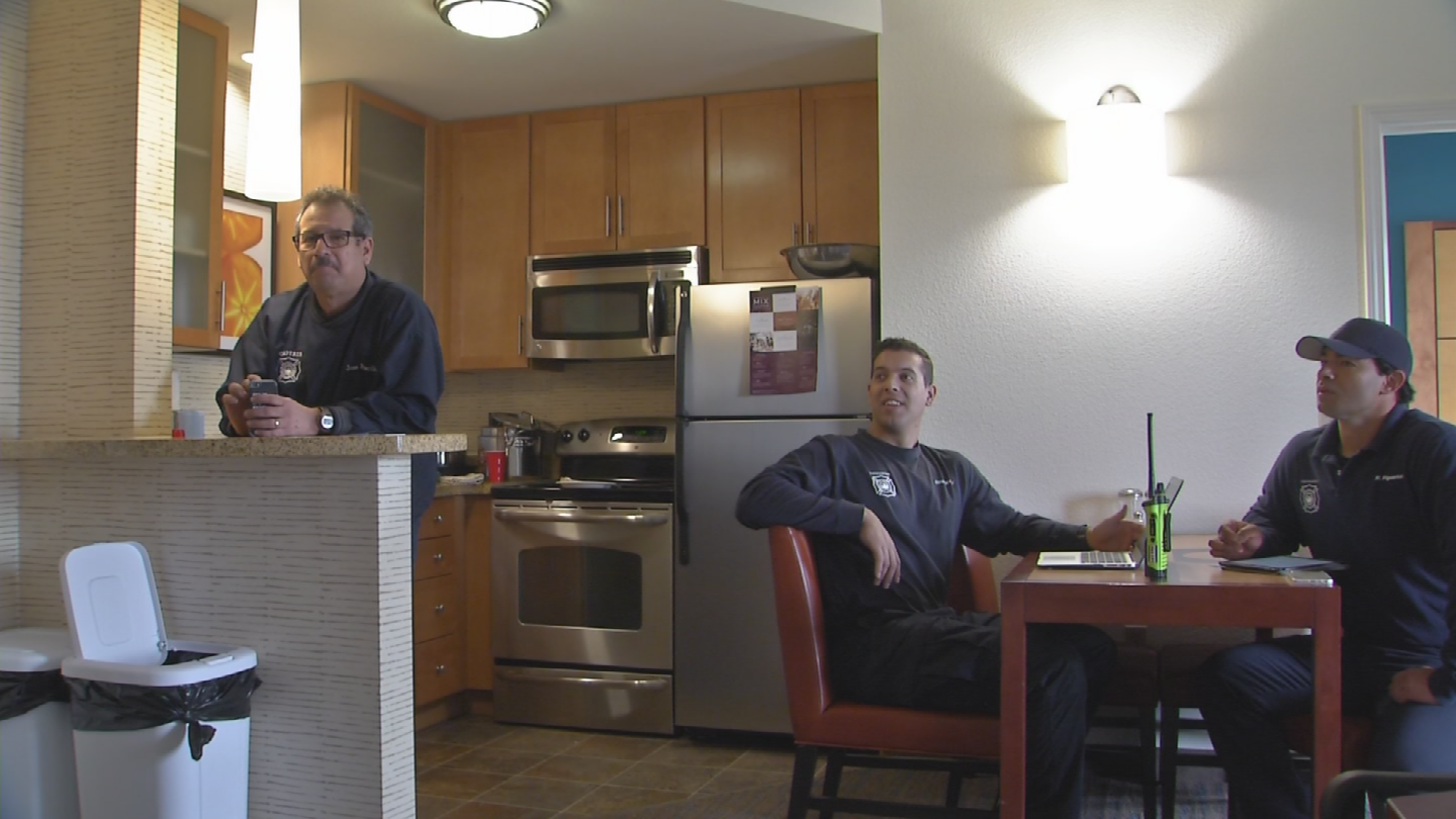 The Phoenix Fire Department is renting a two-bedroom unit at the Marriott Residence Inn near 19th Avenue and Happy Valley Road as Fire Station 55.(Source: 3TV/CBS 5)