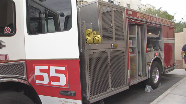 The firefighters will use a truck that wasn't being used before. (Source: 3TV/CBS 5)