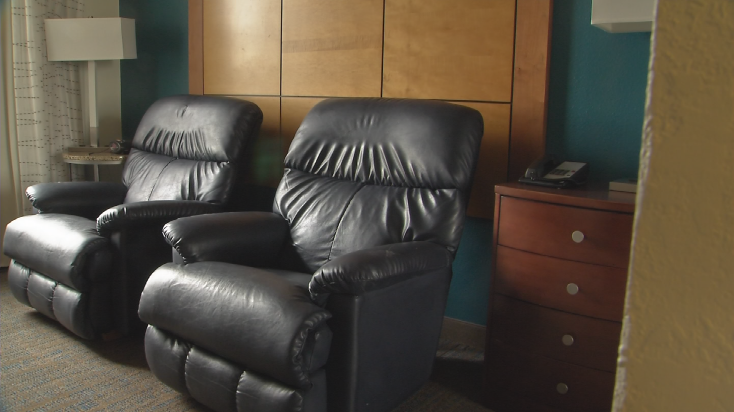 Firefighters will treat the room just like a station, where they'll be able to cook and stay fit. (Source: 3TV/CBS 5)