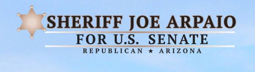 The new main image of Arpaio's @realsheriffjoe verified Twitter account. (Source: Twitter)