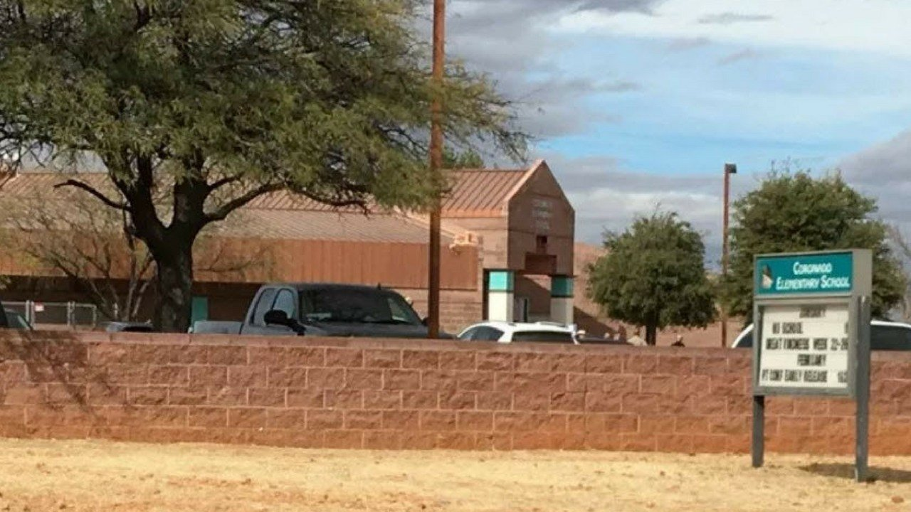 The Cochise County Sheriff's Office said a school in Hereford was placed on lockdown Tuesday, Jan. 9, following a shooting on campus. (Source: Tucson News Now)