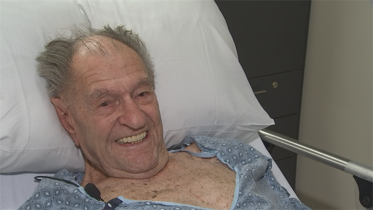 Donald Enlow had the surgery. (Source: 3TV/CBS 5)